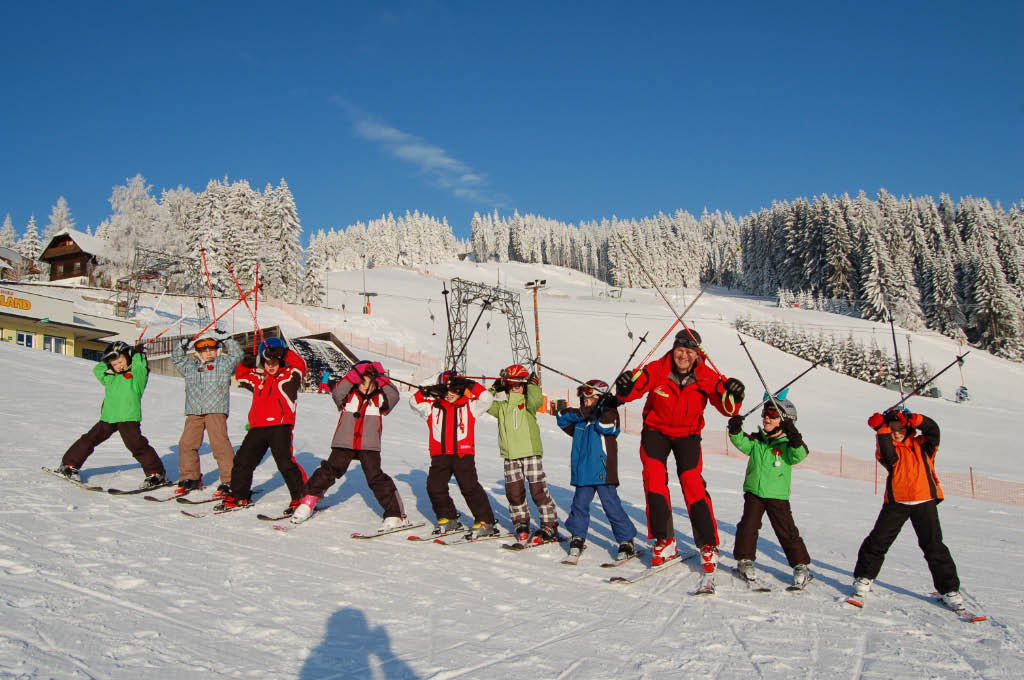 Kinderskikurs in St. Jakob